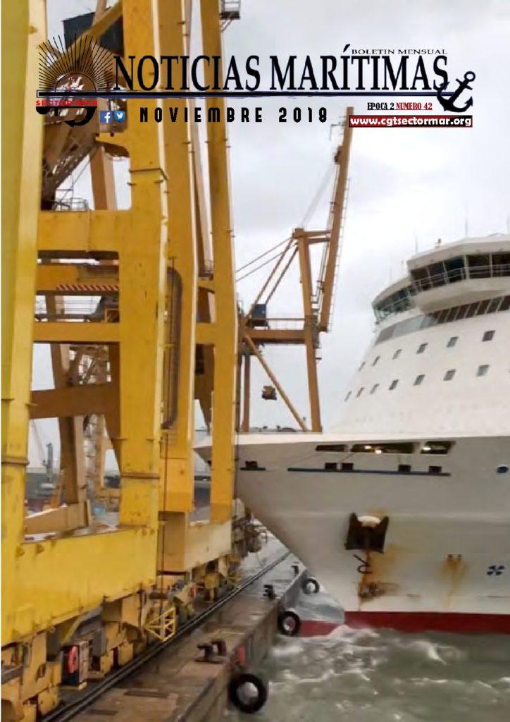 Noticias-Marítimas-Epoca-2-Numero-42-NOVIEMBRE-2018_Portada