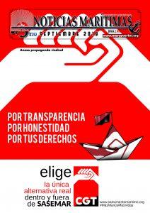Noticias Marítimas (Epoca 2-Numero 52 SEPTIEMBRE 2019) Portada