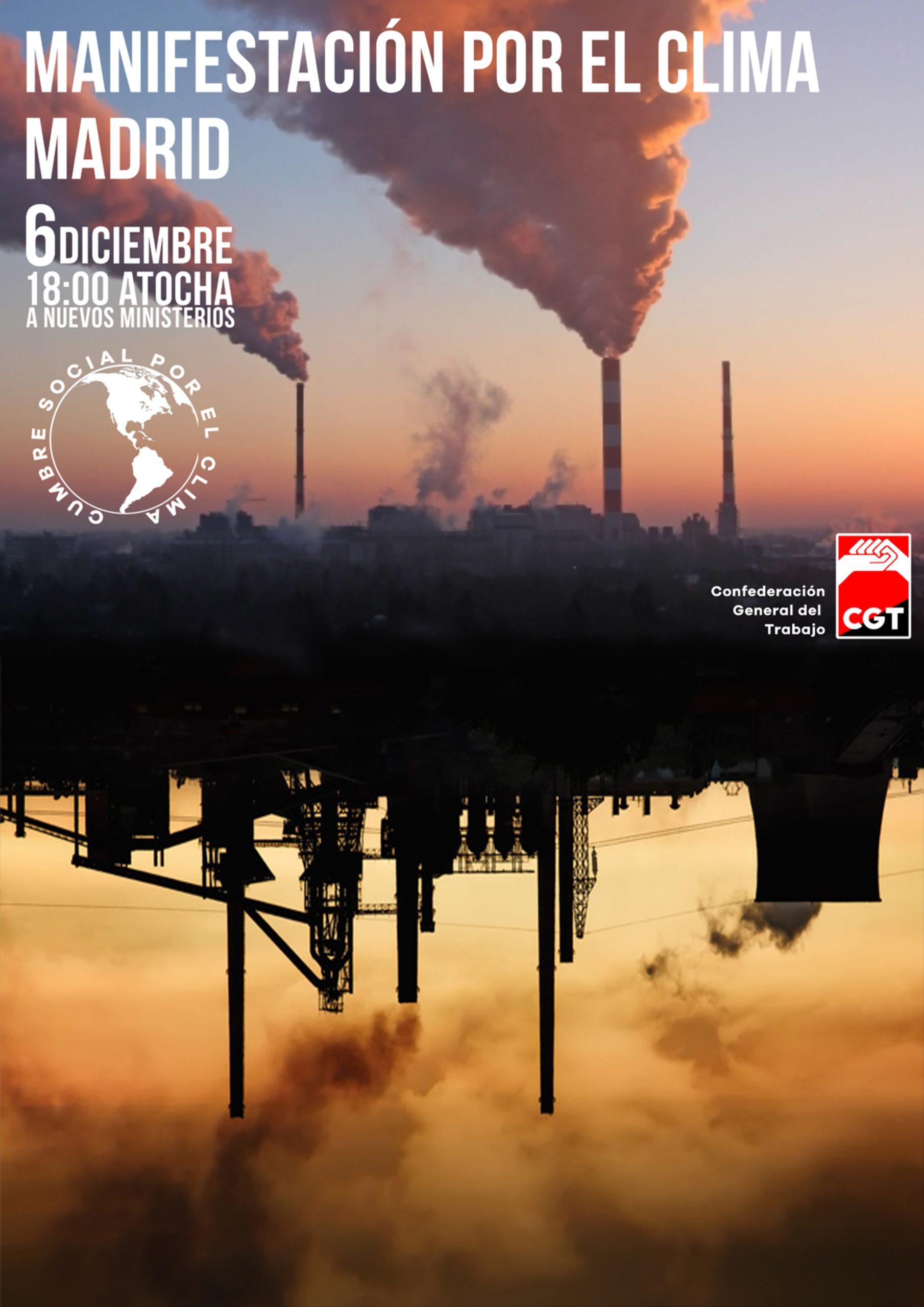 6D:Manifestación Internacional por el Clima en Madrid